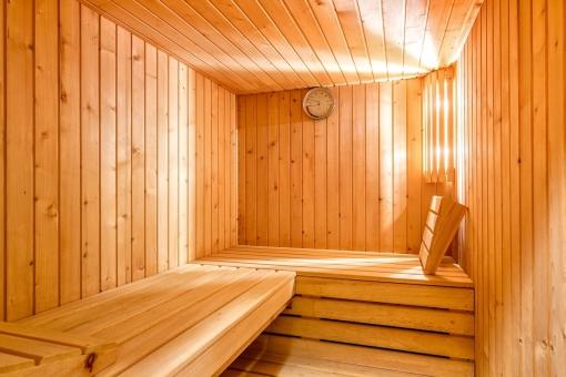 Fantastic sauna