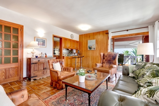 The property has more than 400 sqm living space
