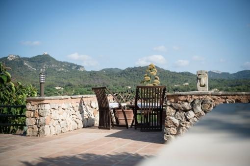 Blick in die Berge von San Salvador