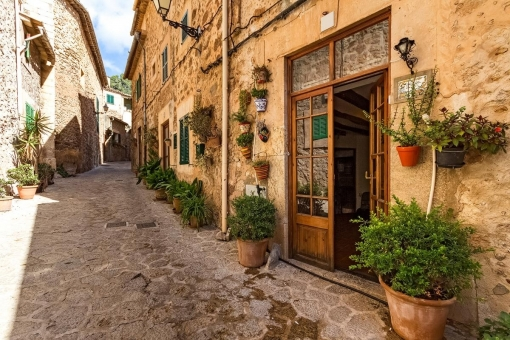 Traditionelles Dorfhaus mit wundervollen Ausblick in Valldemossa