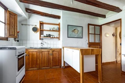 Kleiner Küchenbereich