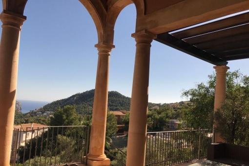 Atemberaubender Meerblick von der Terrasse aus