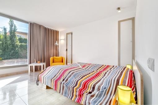 Freundliches Gästeschlafzimmer