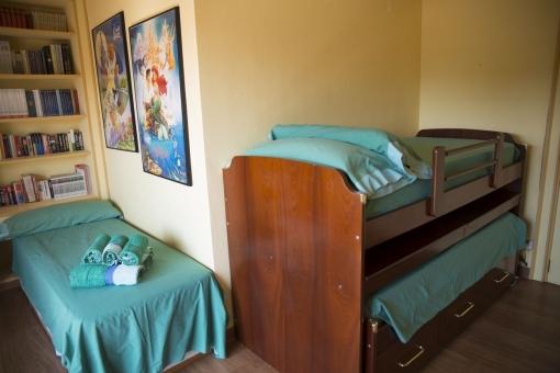 Gästeschlafzimmer mit praktischem Hochbett
