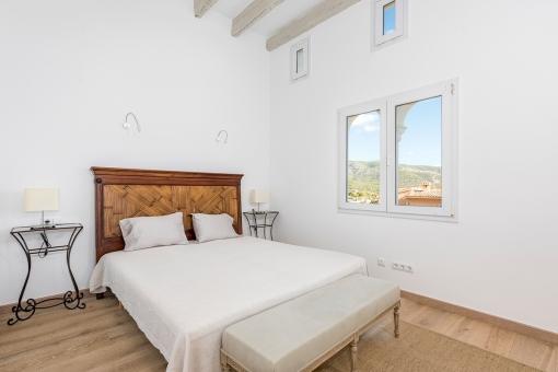 Zweites Schlafzimmer der Villa
