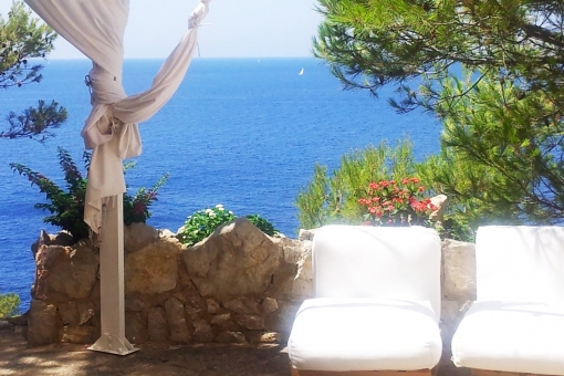 Tolle Ferienwohnung in erster Meereslinie in Santa Ponsa
