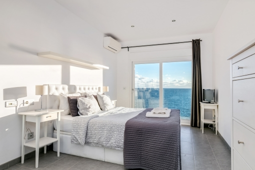 Further bedroom with breathtaking views