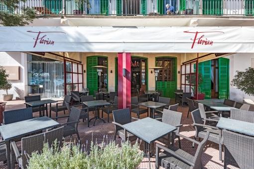 Fantastisches Restaurant mit 2 Wohnungen in erster Meereslinie in Portocolom