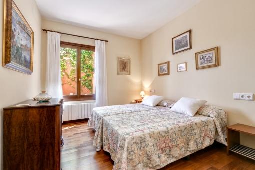 Das dritte Doppelschlafzimmer mit Tageslicht