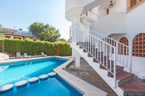 Wohnung mit 3 Schlafzimmern und tollem Meerblick in Santa Ponsa