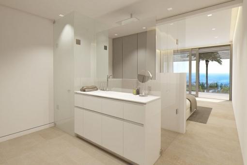 Bathroom en suite of the second bedroom
