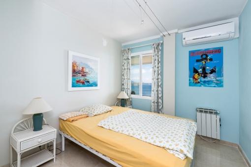 Das zweite Schlafzimmer mit Meerblick