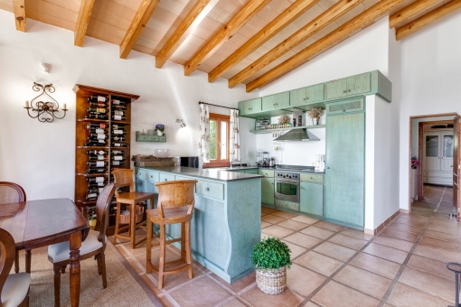 Views of the kitchen