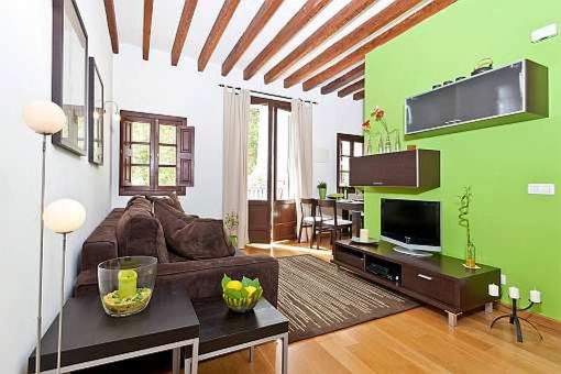 Wunderschöne Wohnung in der Altstadt Palmas - zentral und ruhig gelegen an einem kleinen Platz