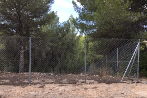 Grundstück in Cala Vinyas