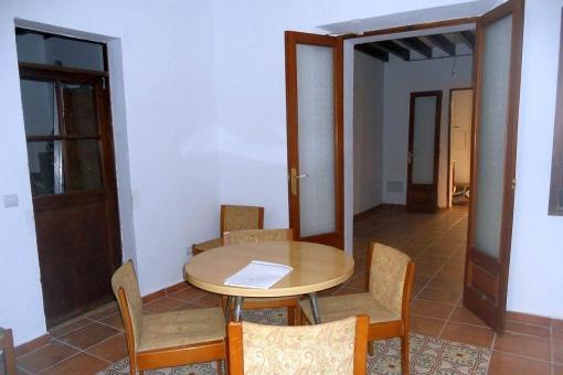 Renovierte Erdgeschosswohnung mit Patio-Terrasse nahe den Ramblas in Palma