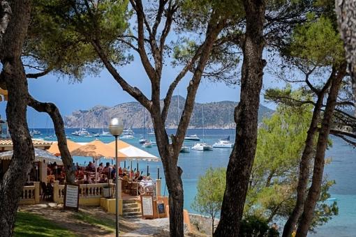 Santa Ponsa harbour area