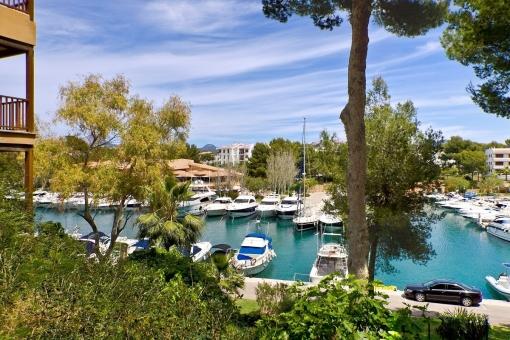 Beautiful harbour of Santa Ponsa