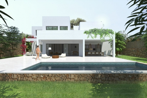 house in Cala Mondrago