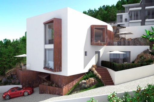 Villa project with fantastic sea views in Santa Ponsa