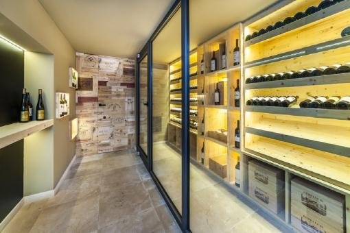Attractive wine deposit