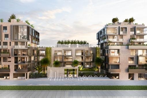Wohnung in Portixol