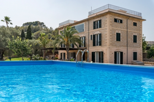 Modern, renovated finca with a separate guest house and apartment near Son Moix, Palma
