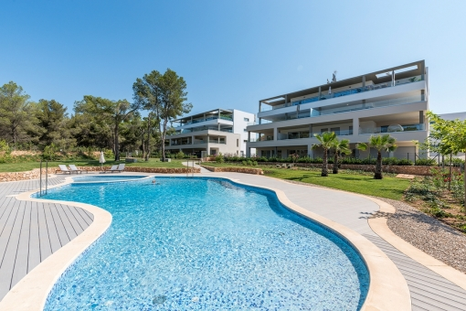 Penthouse apartment in a prime location in Santa Ponsa