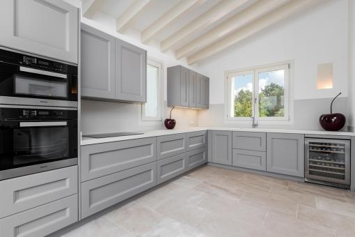 Spaicous kitchen