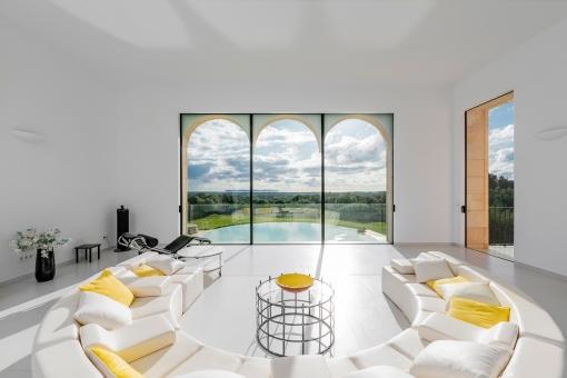 Luxuriöser Wohnbereich im Obergeschoss
