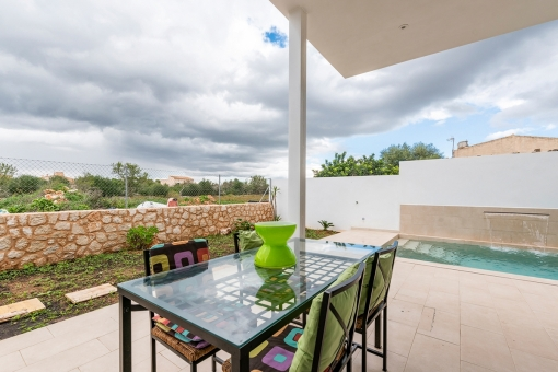 Alternative terrace view