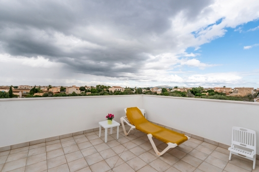 Roof terrace with fantastic sweeping views