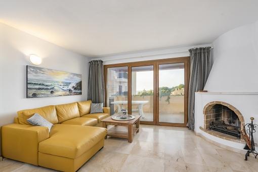 Meerblick Apartment in ruhiger Lage in Nova Santa Ponsa