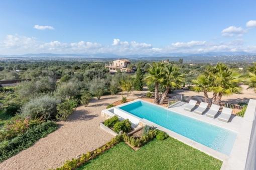 Fantastic views over the bay of Palma