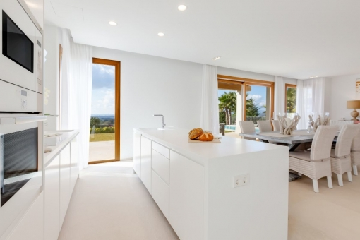 Open, high quality kitchen