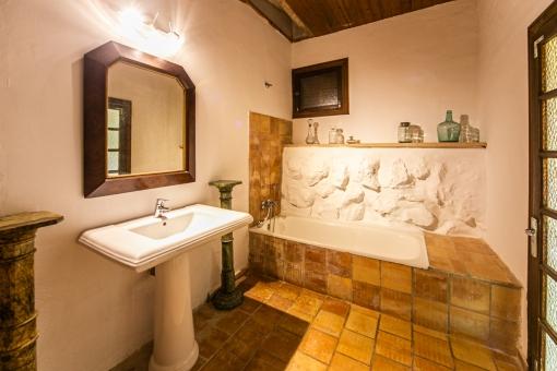 Bathroom in the main house