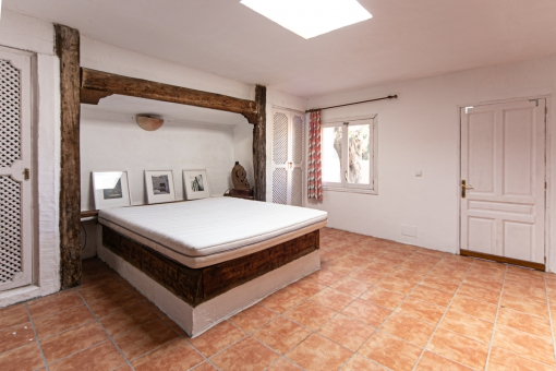 Bedroom in the guest house