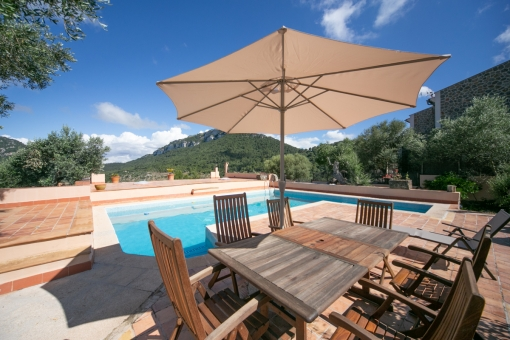 Beautiful pool area and terrace