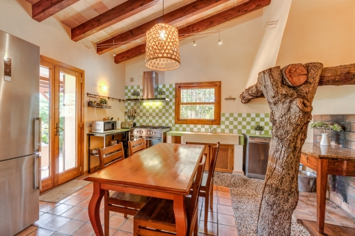Beautiful country house kitchen