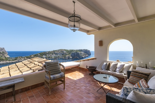Apartment with wonderful sea views in Port Andratx