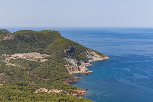 Vistas hasta Port des Canogne