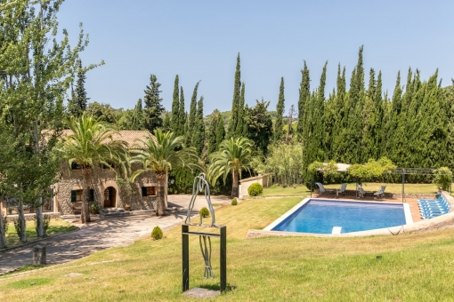 A unique property - an oasis with absolute privacy only a stone's throw from Valldemossa