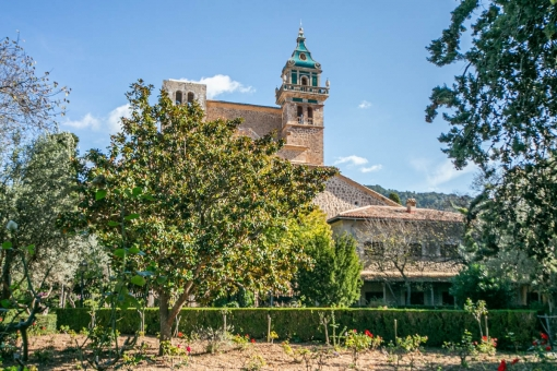 Unique property in the charterhouse of Valldemossa
