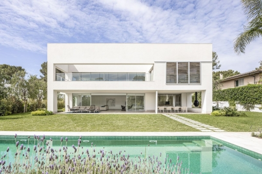 Fantastic newly-built villa with pool in the quiet and luxurious area of Sol de Mallorca