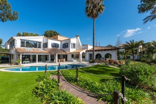 Luxuriöses Anwesen mit 2 Fincas und 2 Pools in Santa Ponsa