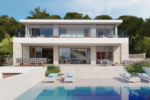 house in Costa den Blanes