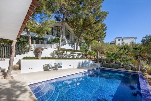 Beautiful property with modern flair in a spectacular location in Port Andratx
