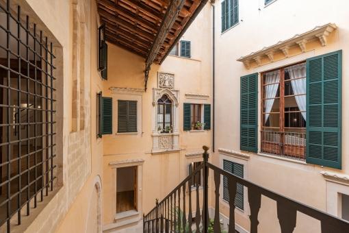 Exclusivo apartamento de obra nueva en una casa señorial de 1810 en el casco antiguo de Palma