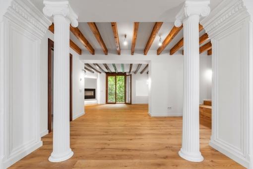 Exclusivo apartamento en una casa señorial de 1815 en el casco antiguo de Palma