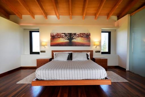 Elegante dormitroio principal